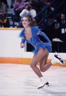 "Katarina Witt's skin-baring costume in 1988 resulted in the ""Katarina Rule."""